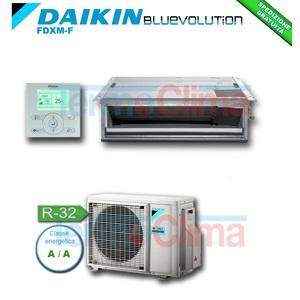 DAIKIN CLIMATIZZATORE CONDIZIONATORE MONOSPLIT SOFFITTO CANALIZZABILE INVERTER BLUEVOLUTION 12000 BTU/h FDXM35F/RXM35M R32 CLASSE A