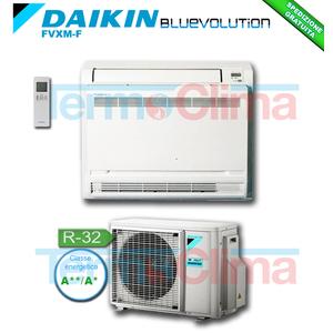 DAIKIN CLIMATIZZATORE CONDIZIONATORE MONOSPLIT PAVIMENTO INVERTER BLUEVOLUTION  12000 BTU/h FVXM35F/RXM35M R32 A++ A+ WI-FI OPTIONAL