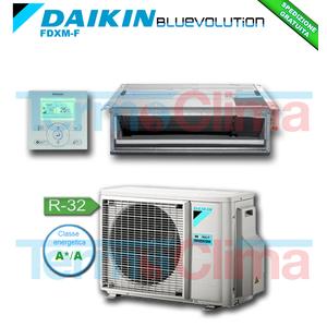 DAIKIN CLIMATIZZATORE CONDIZIONATORE MONOSPLIT SOFFITTO CANALIZZABILE INVERTER BLUEVOLUTION 18000 BTU/h  FDXM50F/RXM50M R32 A+ A