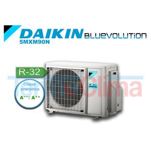 DAIKIN UNITA' ESTERNA MOTORE MULTISPLIT (5MXM90M) INVERTER BLUEVOLUTION 5MXM90N SERIE M R32 A+++ A++