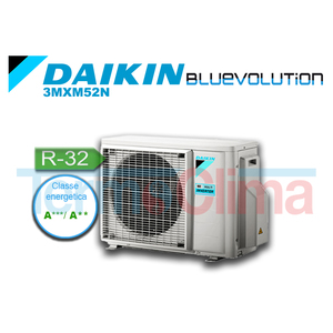 DAIKIN UNITA' ESTERNA MOTORE MULTISPLIT TRIALSPLIT TRIAL SPLIT INVERTER BLUEVOLUTION (3MXM52M) / 3MXM52N SERIE M R32 A+++ A++