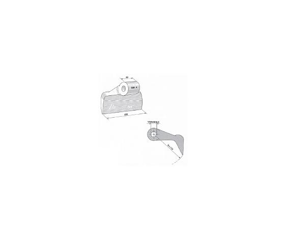 Mazza trincia sarmenti tipo RM 4