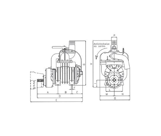 Aspiratori/compressori serie MEC