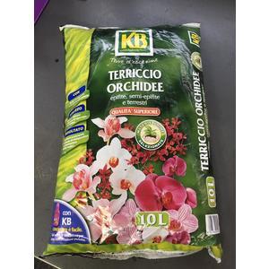 Terriccio Orchidee 10lt KB