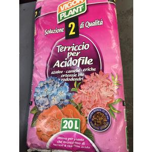 Terriccio per Acidofile 20lt Vigorplant