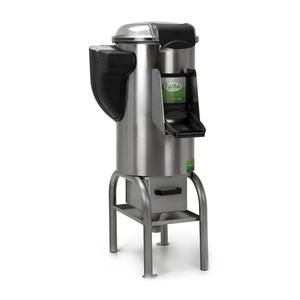Pelapatate kg. 10 con basamento e filtro