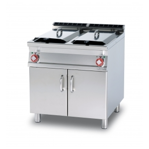 friggitrice trifase lt.18+18 - 2 vasche f2/18-78et