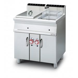 friggitrice gas lt.18+18 - 2 vasche  f2/18-78g