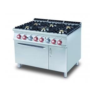 cucina 6 fuochi forno a gas statico  CF6-912GV