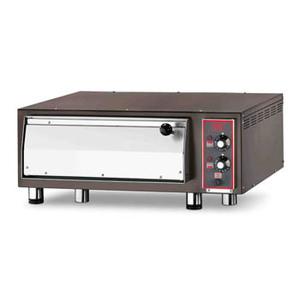 Forno pizza elettrico con refrattario in pietra lavica  4-pizza-CB500