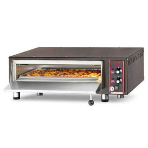 Forno pizza elettrico con refrattario in pietra lavica  4-pizza-CB