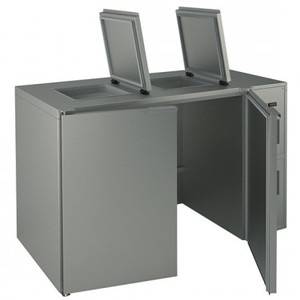 Box Refrigerato per rifiuti   BR 3/120