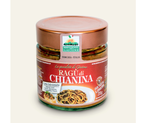 RAGÙ DI CHAININA 220GR.