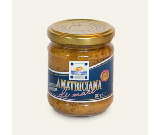 SUGO AMATRICIANA DI MARE 180GR.