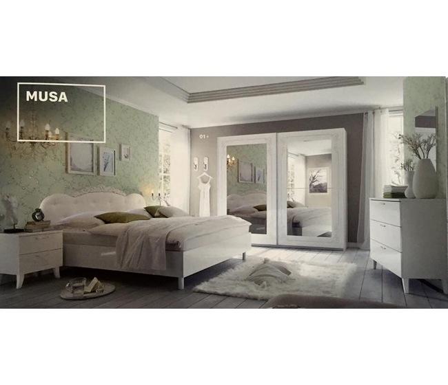 Camera da letto con letto box contenitore