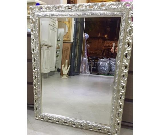Specchio argento anticato