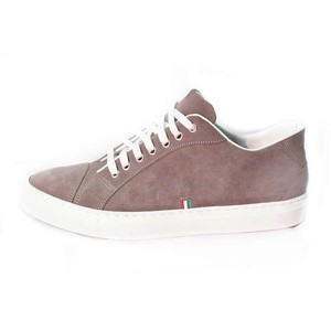 Sneakers Velour Tortora