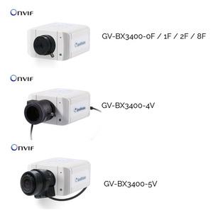 GV-BX3400 Series 3.0MP H264 Super Low Lux WDR D/N Box IP Camera