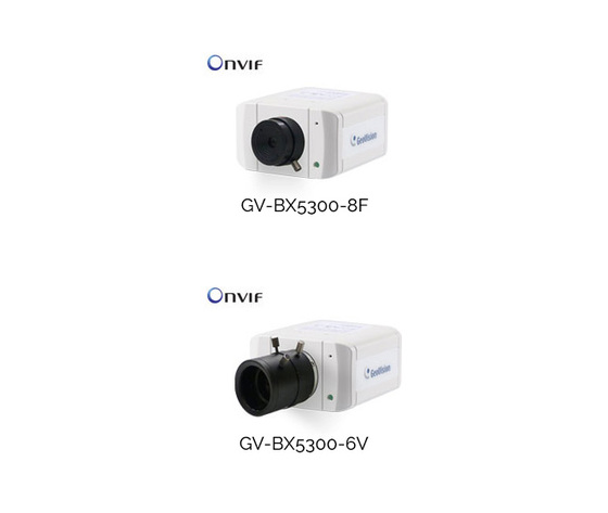 GV-BX5300 Series 5.0MP H264 WDR D/N Box IP Camera