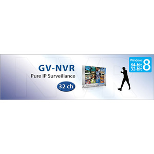 GV-NVR for IP Camera (Windows 8 - 64/32 bit)