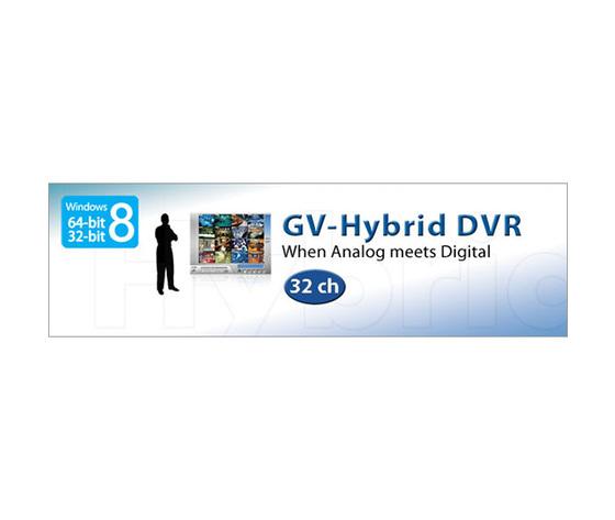 GV-Hybrid DVR for capture Cards coexist IP Cameras (Windows 8 - 64/32 bit)