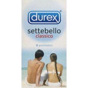 "DUREX SETTEBELLO 6 PEZZI + DUREX ""O"" GEL STIMOLANTE"