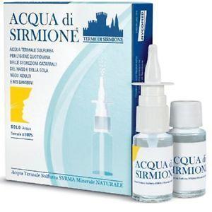 ACQUA DI SIRMIONE 6 FLACONCINI+SPRAY 3 CONFEZIONI