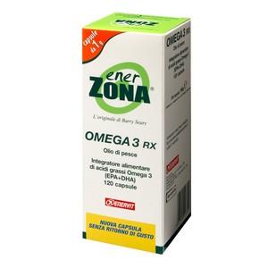 6 ENERZONA OMEGA 3 RX - 120 CPS DA  1GR