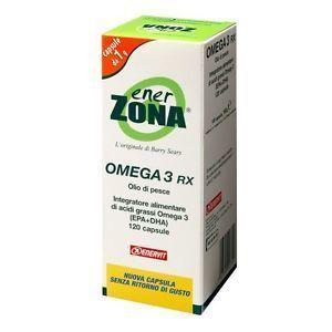NEW ENERZONA OMEGA 3 RX - 168 CPS DA 1GR (120 CPS+48CPS)