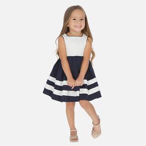 Vestito bicolor bambina