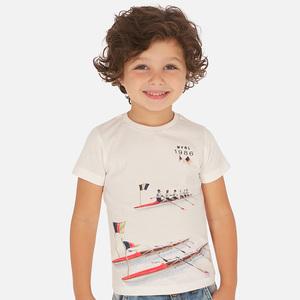 Maglietta manica corta print bambino