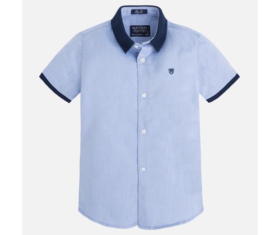Camicia manica corta con dettagli a contrasto - Mayoral