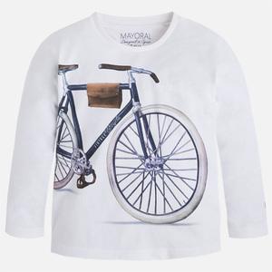 Maglietta manica lunga con stampa bicicletta - Mayoral