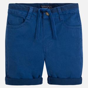 Pantaloncino con cordoncino e risvolto - Mayoral