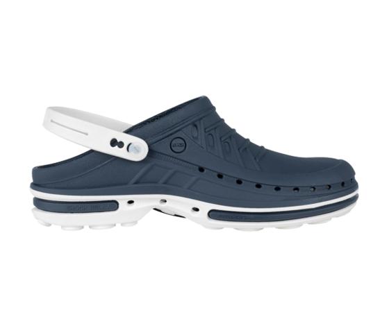 Clog 03 Navy Blu/White - Wock