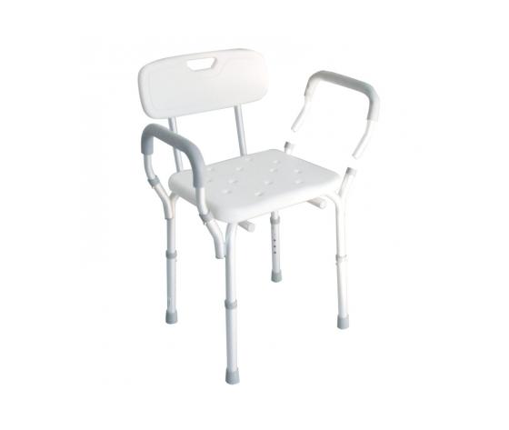 Sedia per doccia con braccioli estraibili - Intermed
