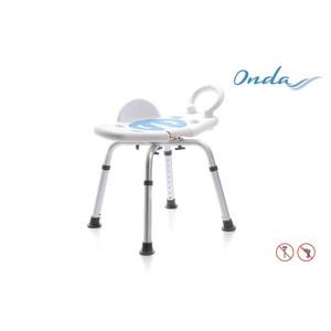 Sedile per doccia girevole senza schienale - Mopedia
