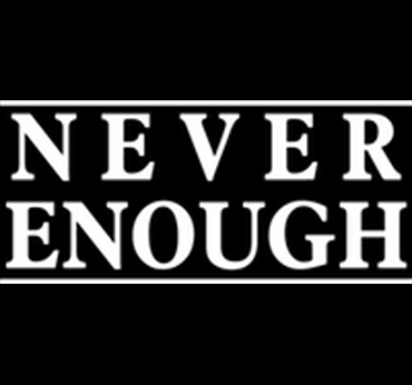 Never enough logo