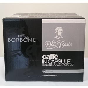 CAFFE' IN CAPSULE COMPATIBILI BORBONE PER MACCHINE LAVAZZA A MODO MIO MISCELA DEK