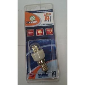 LAMPADINA LED 3 WATT ATTACCO E14 PER FRIG0/CAPPE