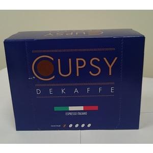 CAFFE' IN CAPSULE PER MACCHINE DA CAFFE' CUPSY DEKAFFE