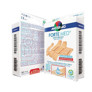 Cerotti Master-Aid Forte Med 40 pz. assortiti
