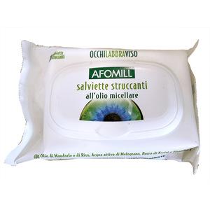 Afomill Salviette struccanti Olio micellare