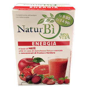 NaturBì Sana Vita, ENERGIA 8 buste