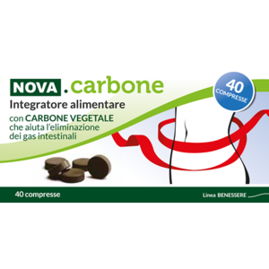 Nova Argentia NOVA CARBONE VEGETALE 40 cpr