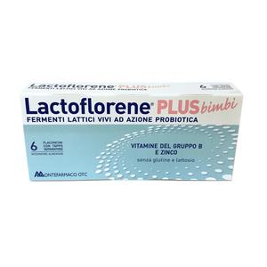 Lactoflorene Plus Bimbi 6 flaconi