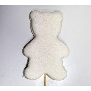 Orsetto di marshmallow bianco