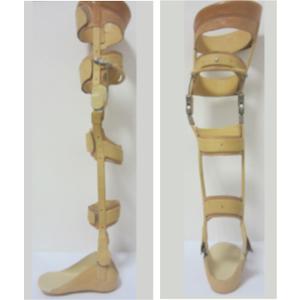 Tutore su calco per Poliomielite
