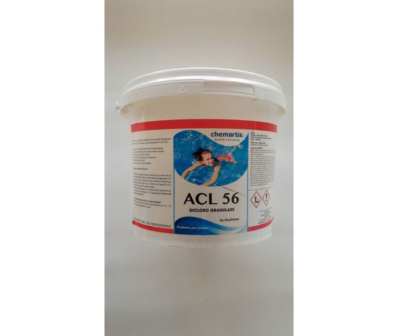 DICLORO GRANULARE ACL 56 KG. 5