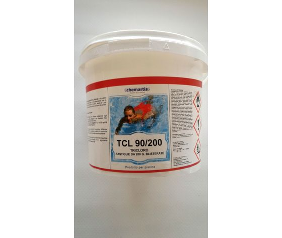 TRICLORO IN PASTIGLIE 200GR. TCL 90/200 KG. 5